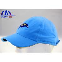Quality Polyester Woven Sport Custom Running Caps for sale