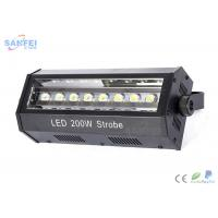 Quality LED 200W Strobe light / Dimmer strobe / Flash light / For DJs Disco / White for sale