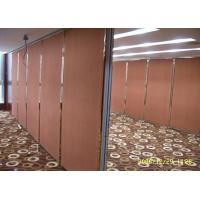 Quality Decorative Double leaves Movable Partition Walls, Sound Insulation for sale