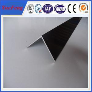 Buy 6063 T5 aluminum angle profile / OEM aluminum angles / per ton of aluminum at wholesale prices