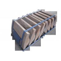 Quality Wear-resistant and Impact Resistance Martensitic Cr Mo Alloy Steel Coal Mill End Liners for sale