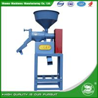 China WANMA 6N40X 2017 New Arrival Home Use Small Rice Milling Machine Paddy Husker Factory Price on sale