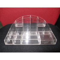 Quality Polishing Acrylic Cosmetic Display Case ,Acrylic Makeup Organizer for sale