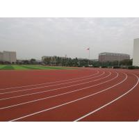 Quality Anti Slipping EPDM Running Track , Skid Proof Coloured Rubber Crumb 6mm-14mm for sale
