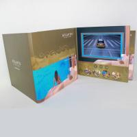 Quality 3D Audio LCD Touch Screen Video In Print Brochure HD Greeting Card For Business for sale