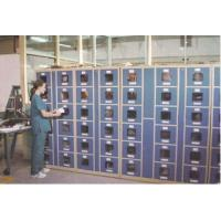 Quality Factory Intelligent Locker Systems 6 Tier Steel Body Transparent Door Anti UV Aging for sale
