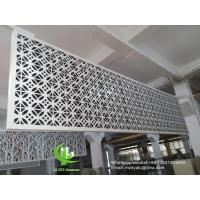 Quality Metal aluminum facade cladding wall for facade curtain wall  with 3mm thickness aluminum panel for sale