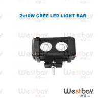 Quality 20W CREE LED Work Light Bar for trucks,ATV,SUV,off road,excavator light,led lighting bar for sale