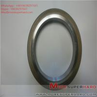 Buy cheap 175*25*127*10 D35 Metal bonded diamond grinding wheel, glass grinding wheel, from wholesalers