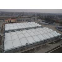 Buy cheap Heavy Duty Tensile Membrane Structures Large Square Shade Sail Steel Q235 Frame from wholesalers