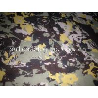 Quality Professional Camouflage PE / EVA foam rubber sheets insole / outsole use for sale
