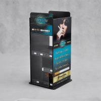 E - cigarettes Acrylic Display Stands More compartments Printing Full Color Logo