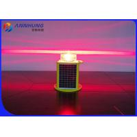 Quality 5 Colors Adjustable LED Marine Navigation Lights Solar Powered With 256 Characters for sale
