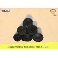 Quality Trash can liner garbage plastic point breaking bags clear 64cmx85cm 20mic for sale