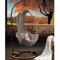 Quality Rattan hanging egg chair/outdoor hanging swing for sale