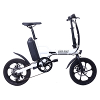 Quality 250W Rear Drive 32KM/H Fat Tire Folding Electric Bike for sale