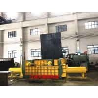 Quality Hydraulic Drive Cuboid Block Y81 - 250 Baling Press With Manual Valve Control for sale