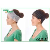 China Elastic Polypropylene disposable hair bands for Ladies , Breathable on sale