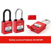 Quality Stainless Steel Key Retaining Master Key Xenoy Safety Padlock Lockouts for sale