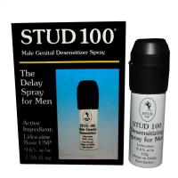 China Ejaculation Sex Delay Stud 100 Male Desensitizer Spray Lidocaine Long Lasting on sale