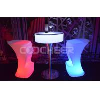 Quality Entertainment Led Bar Stools luxury lighted up bar furniture lighting led for sale