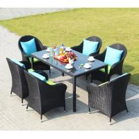Poly Rattan chairs Hotel Aluminium Outdoor Garden Patio chair and table for sale