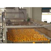 China Gable Top Package For 6000L / H Concentrated Fruit Juice Orange Processing Line on sale