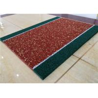 Quality Impact Resistant Recycled Rubber Crumb Multicolors Anti - Slip Jogging Flooring for sale