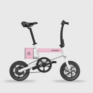 China Smart Electric Folding Bike , Lightweight Fold Up Bike 100kg Max Load on sale