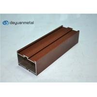 Quality Red Powder Coating Aluminium Extruded Profile for sale