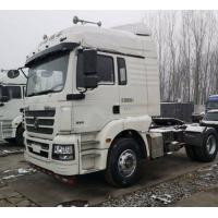 Quality White Shacman Brand Used Tractor Trailers 350hp Euro V Manual Diesel 2017 Year for sale