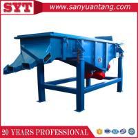 Food/ chemical Stainless steel Linear Vibrating Screen / sieve machine for sale