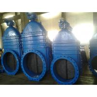 32 Inch Horizontal Gate Valve Mechanical Joint With Bevel Gear Worm Box