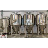 China Cooling Conical Fermenter, Home Brewing, Beer Fermentation Tank 50L--10000L Conical Stainless Steel Fermentation Tank on sale