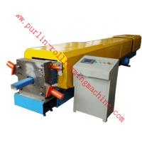Quality Automatic Water Drainage Pipe Roll Forming Machine / Metal Eaves Gutter Equipment for sale