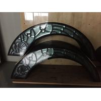 """Quality high quality patina caming decorative door  glass 1"""" thickness for sale"""