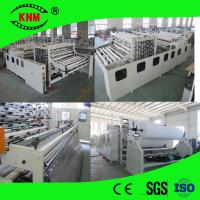 Quality Kingnow Machine non stop toilet paper converting machine for toilet tissue manufacturing for sale