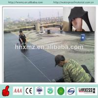 China competitive price EPDM flat roofing rubber waterproof membrane