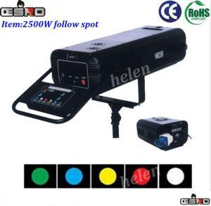Quality 2500W Follow Spot Stage light for sale