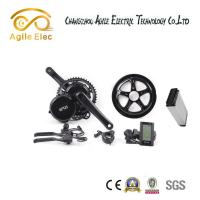 Quality Geared Motor Bafang Electric Bike Kit , Powerful  Mountain Bike Electric Motor Kit for sale
