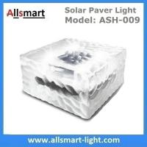 Quality 4x4 inch Square Solar Paver Lights Waterproof Solar Brick Lights IP68 Solar Underground Inground Lights Maintenance Free for sale