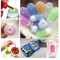 Quality Hebei Shengxiang leak proof squeezable, BPA free, Food Grade Protable Silicone Travel Bottle for sale