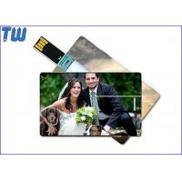 Buy Hotsale Credit Card 64GB Usb Thumb Drive with Digital Printing for Company Gifts at wholesale prices