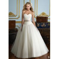 Quality NEW!!! Strapless wedding dress Ball gown Organza skirt Bridal gown #B5 for sale