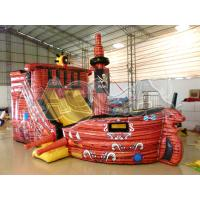 Quality Pirate Ship Inflatable combo for sale