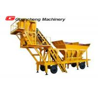 China Mobile Concrete Mixing Plant , Automatic Batching Plant 3.8m Discharging Height on sale