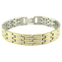 Buy cheap Women / Mens Magnetic Health Care Bracelets With Double Row Magnets from wholesalers