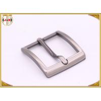 Buy Single Prong Square Metal Fashion Belt Buckles Zinc Alloy Nickel Plating at wholesale prices