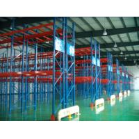 Quality 75mm Adjustable Structural Pallet Racks , 500-5000KG / Level Metal Storage Racking For Storage for sale
