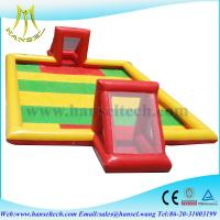 China Hansel Inflatable football field inflatable soccer field on sale